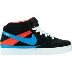 Nike Mavrk Mid 2 Jr Skate Shoe - Boys' Black/Max Orange/White/Heritage Cyan, 5.0 Nike. $29.97
