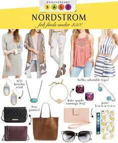 LAST DAY to shop the Nordstrom Anniversary Sale! LivvyLand // Shop Items Under $50