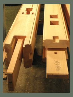 Japanese Post and beam joinery