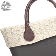 Twisted Wool Trim - Natural - O Bag Accessory My Style Bags, Fashion Bags, Fashion Women, My Bags, Straw Bag, Leather Bag, Bag Accessories, Autumn Fashion, Wool