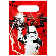 Star Wars: The Last Jedi Party Bags - Star Wars Party Supplies - Loot Bags (Pack of Star Wars Party Supplies, Dinosaur Party Supplies, Birthday Bag, Birthday Letters, Paper Party Bags, Party Favor Bags, Superhero Party Bags, Novelty Toys, Loot Bags