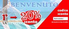 Effettua la tua registrazione cliente  www.esteticaelavoro.it/angelar Questo ti darà diritto ad uno sconto del 20% sul tuo primo ordine