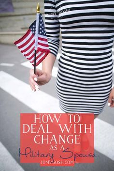 I have such a hard time when change happens, and it happens all the time in military life. I love these strategies for making transitions easier.