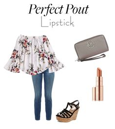 """""""Untitled #31"""" by virginiaebrown ❤ liked on Polyvore featuring beauty, Current/Elliott, Steve Madden, Michael Kors and Estée Lauder"""