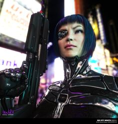 Cyber Max - letshavoc: Big City nights by nenart