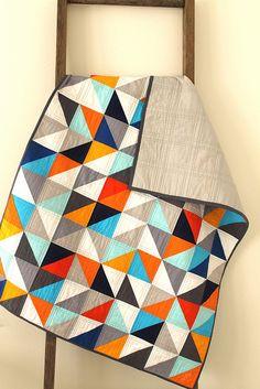 pantone parade :: a custom quilt. by CB Handmade, via Flickr