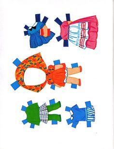 Paper Dolls~ Lucky Locket Kiddles - Bonnie Jones - Picasa Webalbumok