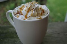 caramel apple hot cider