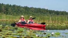 Paddeln - Aktiv mit dem Kanu Aktiv, Boat, Budget Travel, Bike Rides, Campsite, National Forest, Vacations, Brushes, Dinghy