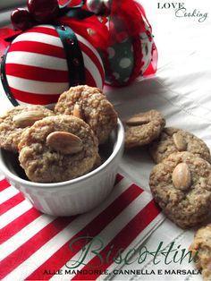 Biscottini alle mandorle, cannella e marsala
