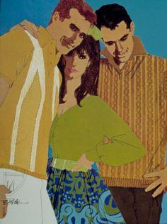 Bob Peak Fashion Illustration Vintage, Photo Illustration, Retro Illustrations, American Illustration, Fashion Illustrations, Bob Peak, Bay Area Figurative Movement, 70s Style, Pin Up Art