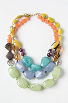 I could make that!  Lagniappe Necklace - Anthropologie.com