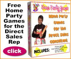 100 Home Party Games for Direct Sales