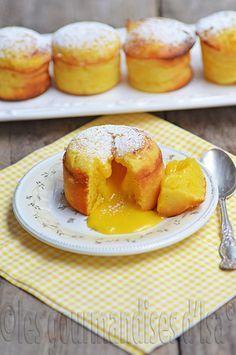 flowing with lemon, lemon curd, cake