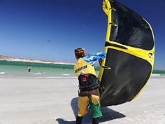 Kite surfing and Kiteboarding. Langebaan Adventures | Things to do in Langebaan | Must-do Activities - Dirty Boots