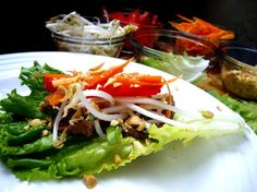 Beef Lettuce Wraps | Beef Lettuce Wraps from Miss Delish | Jennifer Cooks Fusion Friday Fa ...