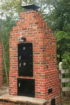 Pizza oven & Smoke pit all in one!