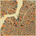New York: Abstract Maps – Fubiz™