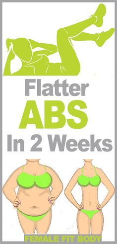 Get Flatter Abs In 2 Weeks With This Fat-Blasting Workout