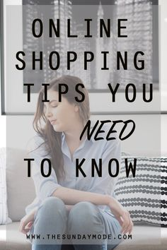 Online Shopping Tips You Need To Know // www.thesundaymode.com