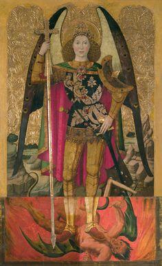Jaume Huguet - Saint Michael. 1455 - 1460