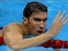 Michael Phelps ganha prova e se torna maior vencedor da história dos Jog...
