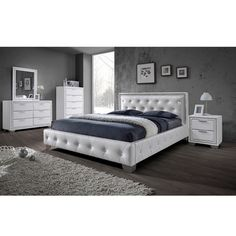 Christie Bedroom Furniture Sets in White With Diamante Design Contemporary Bedroom Furniture Sets, White Bedroom Furniture, Bed Furniture, Toddler Bunk Beds, White Bedroom Set, Single Bedroom, Master Bedroom, Wooden Bedroom, Furniture Packages