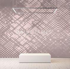"DAISY JAMES #Wallcover ""The Circuit""#interiordesign #Luxuryhouses #officedesign"