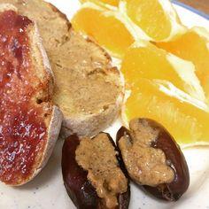 Bom dia! Pré-treino com tâmaras e broa de milho com a manteiga de amendoim de pumpkin spice da @mws.pt  #MyWheyStore www.mws.pt ( # @veganornot)  #bomdia #breakfast #pequenoalmoço #cafedamanha #cleaneating #healthy #saudável #mywheypt #mywheystore #theproteinworks #goodfats #goodmorning #vegan #veganfood #crueltyfree
