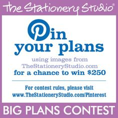 The Stationery Studio Big Plans Contest