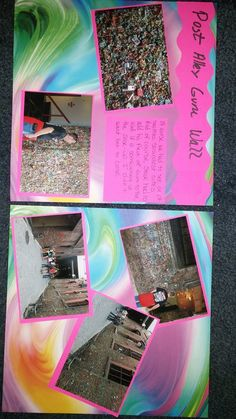 Post Alley Gum Wall - Scrapbook.com