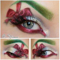 ♡ #christmasmakeup #makeup #sugarpill   @ stjima