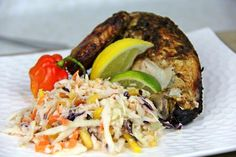 True flavors of the Caribbean with this wonderful coleslaw. Click for the recipe and cooking demo.