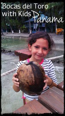 Bocas del Toro, Panama is awesome! Get information about exploring this area with kids at thedustyfootdiary.com