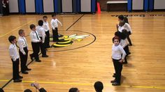 "2nd Graders - Peter Amidon's ""Zip It Up Folk Dance"" (Denise!)"