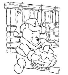 Disney fans should be enjoying these Xmas coloring pages that show a variety of Disney characters for children to print and color. Just clic...