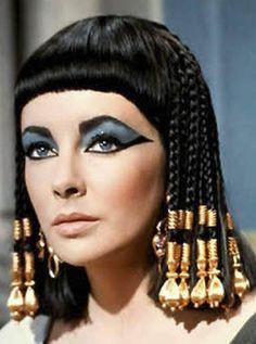 Cleopatra eye make-up