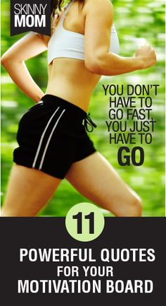 Check out these 11 powerful quotes to motivate yourself through that workout :)