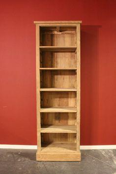 Teak boekenkast recyclde teak - Teak book cabinet reclaimed teakwood