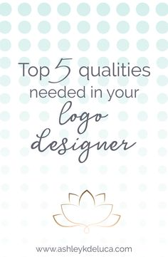 There's a lot more to logo design than making something that looks pretty, and working with a designer is the best way to get one that properly reflects your business, values, and personal style. Not all logo designers are created the same, though. These tips will help you determine what qualities to look for in the person you will ultimately entrust with creating one of your business' most valuable assets. #logo #logodesign #businesslogo #branding