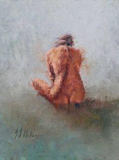Nude Oil On Canvas, Saatchi Art, Original Paintings, Nude, Artist, Magic, Oil Paintings, Artists
