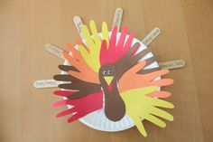 Paper Plate Turkey Crafts For Kids 640x427