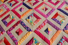 Like the quilt and the simple texture made by the quilting