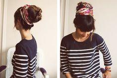 DIY: Sock Bun Updo and Gallery | lovelyish