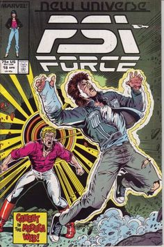 PSI-Force # 18 by Ron Lim & Al Milgrom