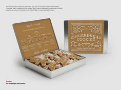 Cundari's Gingerbread Cookies Are Shaped Like People in the Office #cookies trendhunter.com
