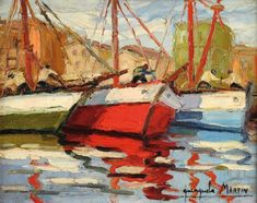 barcos Painters, Kids House, Abstract Paintings, Boats, Abstract, Art