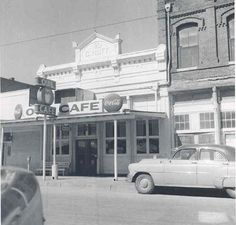 Owl cafe years ago in Taylor Tx