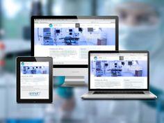 Diseño de sitio web empresarial. Sitio web en HTML5 y CSS3. Diseño de página web adapto para celulares y tablets.
