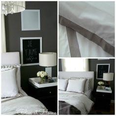 Beautiful master bedroom bedding